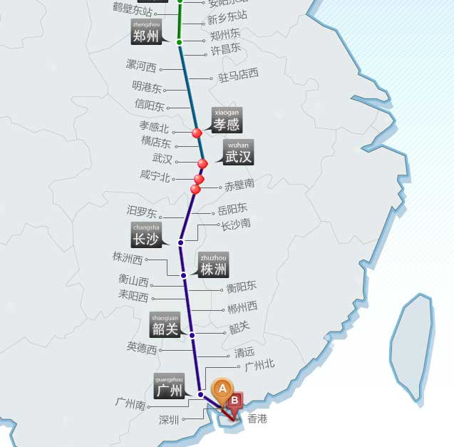 京广高铁沿途旅游-湖北地区旅游景点